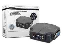 VGA Splitter 350MHz, 2-Port