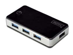 DIGITUS USB3.0 Hub 4-port