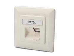 Digitus - DIGITUS CAT 6A NETWORK OUTLET