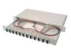 DIGITUS Professional DN-96321/9 - Glasfaserkabelkiste - 1U - 48.3 cm (19