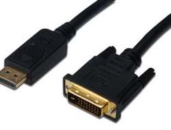 ASSMANN Adapterkabel DisplayPort DVI 3m