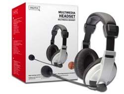Digitus - Stereo Multimedia Headset