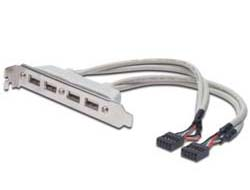 Digitus - USB-Slotblechkabel