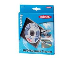 Ednet - CD/DVD/Blu-ray Driver Cleaner