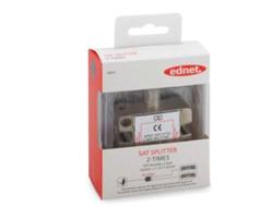 Ednet - SAT-Splitter, 2-fach