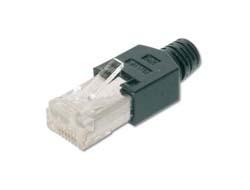 DIGITUS Shielded,Hirose Quality Plug TM 11 - Netzwerkanschluss - RJ-45 (S) - abgeschirmt - 5.5 - 6.2 mm