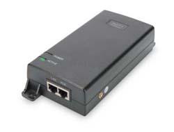 PoE Injektor DIGITUS Ultra 802.3at 10/100/1000 Mbps 60 Watt