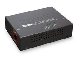 PLANET POE-E201 - Repeater - Ethernet, Fast Ethernet, Gigabit Ethernet - 10Base-T, 100Base-TX, 1000Base-T - RJ-45 / RJ-45 - bis zu 100 m