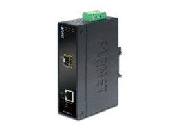 PLANET IGT-905A - Medienkonverter - Gigabit Ethernet - 10Base-T, 100Base-TX, 1000Base-T - RJ-45 / SFP (mini-GBIC)