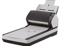 Fujitsu fi-7260 - Dokumentenscanner - Duplex - 216 x 355.6 mm - 600 dpi x 600 dpi - bis zu 60 Seiten/Min. (einfarbig) / bis zu 60 Seiten/Min. (Farbe)