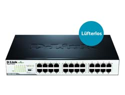 D-Link DGS 1024D - Switch - 24 x 10/100/1000 - Desktop