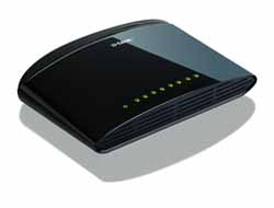 D-Link - 8-Port Layer2 Fast Eth.Switch