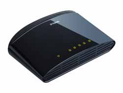 D-Link - 5-Port Layer2 Fast Eth.Switch