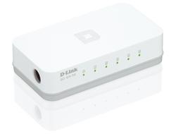D-Link - 5-Port Easy Desktop Switch