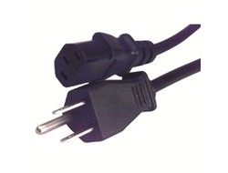 Cisco - Stromkabel - IEC 60320 C13 bis NEMA 5-15 (M) - 2.5 m - Vereinigte Staaten - für Catalyst 3560V2-24PS, 3560V2-24TS, 3560V2-24TS-SD, 3560V2-48PS, 3560V2-48TS