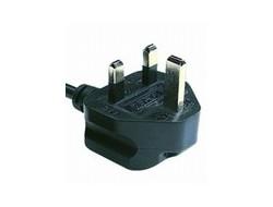 Cisco - Stromkabel - IEC 60320 C13 (M) bis BS 1363 (M) - 2.5 m - Großbritannien und Nordirland - für P/N: CP-PWR-CUBE-3, CP-PWR-CUBE-3=