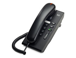 Cisco Unified IP Phone 6901 Standard - VoIP-Telefon - SCCP - Anthrazit