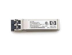 HPE - SFP (Mini-GBIC)-Transceiver-Modul - 8 GB Fibre Channel (Short Wave) - für HPE 8Gb, SN6000; StorageWorks 8/20q, 8Gb, MPX200, SN6000