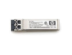 HPE - SFP+-Transceiver-Modul - 8-Gbit-Fibre Channel (Long Wave) - für HPE 8/24, SAN Switch 8/80, SN8000B 32; BLc3000 Enclosure; StoreFabric 8/24 8Gb
