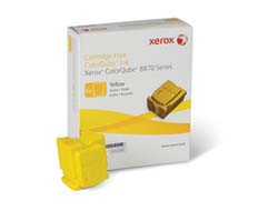 Xerox - SOLID INK YELLOW (6 STICKS)