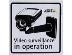 AXIS Surveillance Sticker - Aufkleber (Packung mit 10 )