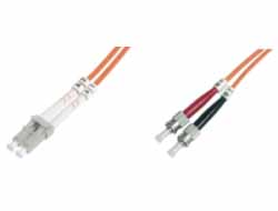 M-CAB - Netzwerkkabel - LC Multi-Mode (M) bis ST multi-mode (M) - 2 m - Glasfaser - 50/125 Mikrometer