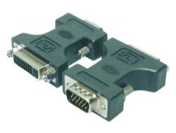 M-CAB - DVI-Adapter - DVI-I (W) bis HD-15 (M)