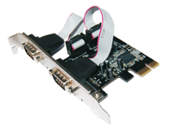 Mcab - PCI EXPRESS SERIAL CARD - 2 P