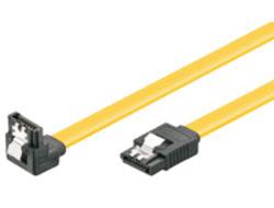 M-CAB - SATA-Kabel - Serial ATA 150/300/600 - SATA (W) latched bis SATA (W) angled - 70 cm - eingerastet