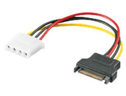 M-CAB - Netzteil - interne Stromversorgung, 4-polig (W) bis SATA Leistung (M)