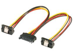 M-CAB - Netzteil - SATA Leistung (M) bis SATA Leistung (W) gewinkelt