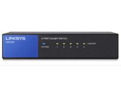 Linksys LGS105 - Switch - nicht verwaltet - 5 x 10/100/1000 - Desktop - AC 100/230 V