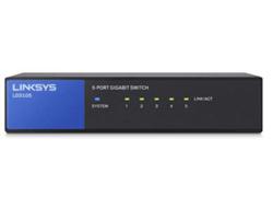 Linksys LGS108P - Switch - nicht verwaltet - 4 x 10/100/1000 (PoE+) + 4 x 10/100/1000 - Desktop, wandmontierbar - PoE+ (50 W)