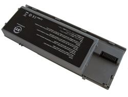 BTI - Laptop-Batterie - 1 x Lithium-Ionen 6 Zellen 5000 mAh - Grau - für Dell Latitude ATG D620, ATG D630, D630, D631, XFR D630; Precision Mobile Workstation M2300