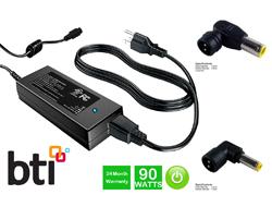 BTI - Netzteil - 90 Watt - Großbritannien und Nordirland, Europa - Schwarz - für Lenovo N200; ThinkPad L41X; L51X; L520; SL410; T400; T410; T420; T510; T520; W510; W520