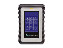 Data Locker 3 - Festplatte - verschlüsselt - 1 TB - extern (tragbar) - USB 3.0