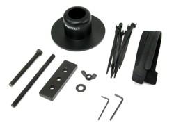 Ergotron - Montagekomponente (Aufbauplatte) - Schwarz