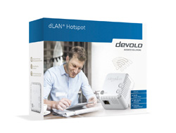 devolo dLAN Hotspot - Starter Kit - Bridge - HomePlug AV (HPAV) - 802.11b/g/n - 2,4 GHz