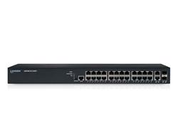 LANCOM GS-2326P+ - Switch - verwaltet - 24 x 10/100/1000 (PoE+) + 2 x Kombi-Gigabit-SFP - an Rack montierbar - PoE+