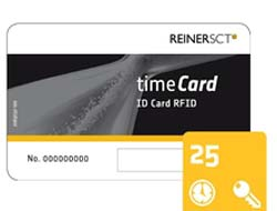 ReinerSCT timeCard ID Card RFID - RF Proximity Card (Packung mit 25 )
