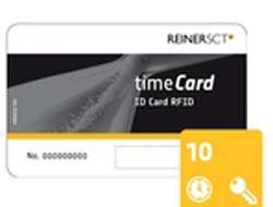 ReinerSCT timeCard ID Card RFID - RF Proximity Card (Packung mit 10 )