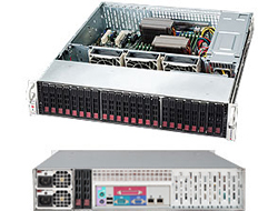 Supermicro SC216 BE1C-R920LPB - Rack - einbaufähig - 2U - verbessertes, erweitertes ATX - SATA/SAS