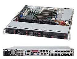 Supermicro SC113M TQ-563CB - Rack - einbaufähig - 1U - ATX - SATA/SAS