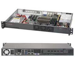 Supermicro SuperServer 5019S-L - Server - Rack-Montage - 1U - 1-Weg - RAM 0 MB