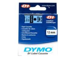 DYMO D1 - Selbstklebend - Schwarz auf Blau - Rolle (1,2 cm x 7 m) 1 Rolle(n) Etikettenband - für LabelMANAGER 160, 210D, 210D Kit, 210D Kit Case, 280, 360D, 420P, 420P Kit, 500TS, PnP