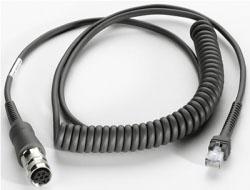 Motorola - USB-Kabel - 2.7 m - aufgespult - für Motorola VC5090; Symbol LS3408, LS3478; Digital Scanner DS 3407, DS 3408, DS3478