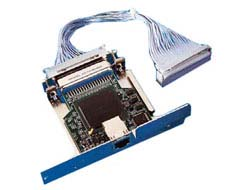 ZebraNet 10/100 Print Server - Druckserver - 10/100 Ethernet - für Zebra R4Mplus, S4M; PAX R110; Xi Series; Z Series Z4Mplus, Z6Mplus, ZM400, ZM600