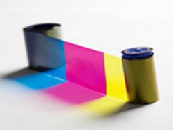 Datacard YMCKT - 1 - Farbe (Cyan, Magenta, Gelb, Schwarz) - Farbband (Farbe) - für Datacard SD460, SP55 Plus, SP75 Plus