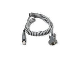 Intermec - Kabel seriell - DB-9 - 2 m - aufgespult - für Intermec CV30, CV60, SR61, SR61B, SR61T