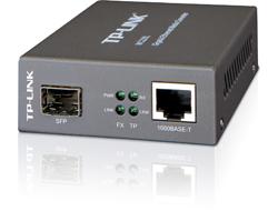 Medienkonverter / GB / Multi/Singlemode / SC / von 100BASE-SX/100BASE-TX